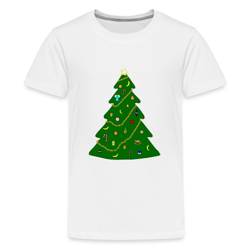 Christmas Tree For Monkey - Kids' Premium T-Shirt