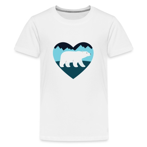 Polar Bear Love - Kids' Premium T-Shirt