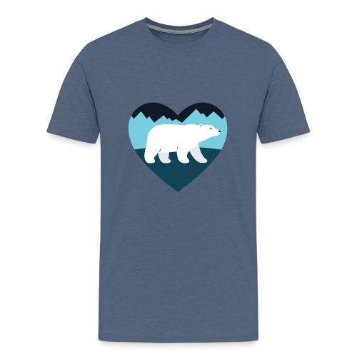 Polar Bear Love - Kids' Premium T-Shirt