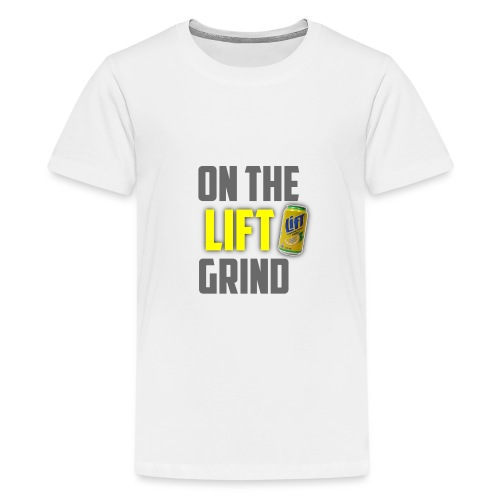 On The Lift Grind ItsMeOw - Kids' Premium T-Shirt