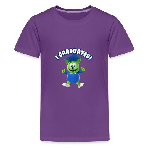 I Graduated! Gummibar (The Gummy Bear) - Kids' Premium T-Shirt