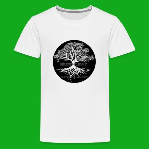 Greenleaf Wear Black logo - Kids' Premium T-Shirt