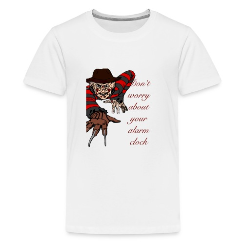 Freddy alarm clock - Kids' Premium T-Shirt