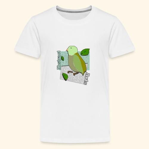 Little Bird Abstract Arts by Cc Arts Designs - Kids' Premium T-Shirt