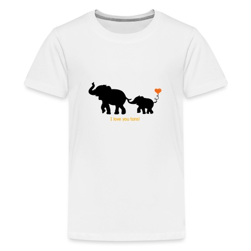 I Love You Tons! - Kids' Premium T-Shirt