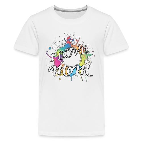 ILM I Love MoM - Kids' Premium T-Shirt