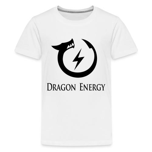 Dragon Energy (black graphic) - Kids' Premium T-Shirt
