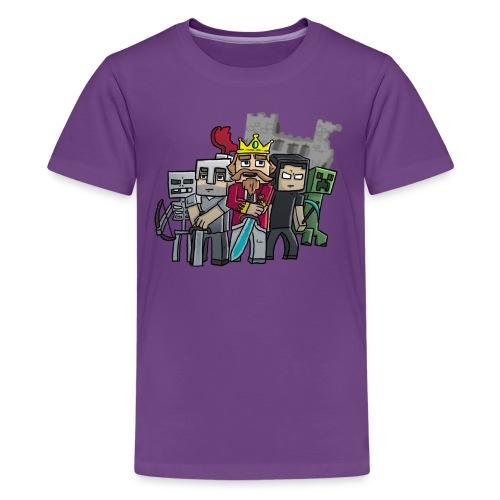 fallenkingdomshirt4 castle tshirts - Kids' Premium T-Shirt