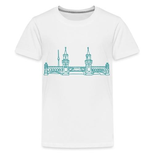 Oberbaum Bridge in Berlin - Kids' Premium T-Shirt