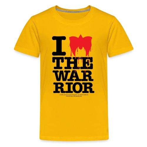 I Love The Warrior - Kids' Premium T-Shirt