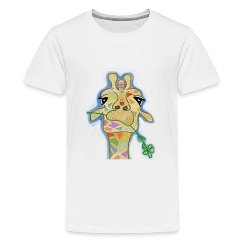 Geometric giraffe - Kids' Premium T-Shirt
