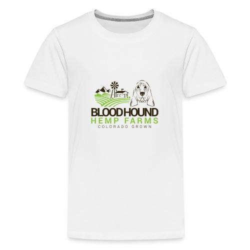 BloodhoundHempFarms - Kids' Premium T-Shirt
