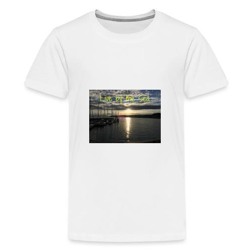Live by the sea - Kids' Premium T-Shirt