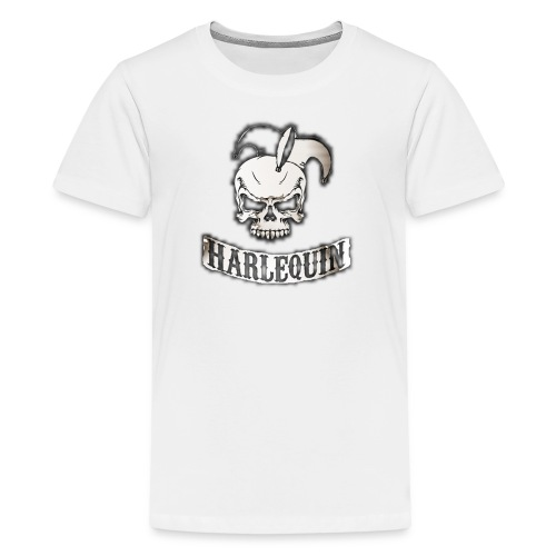 harlequin2048 png - Kids' Premium T-Shirt