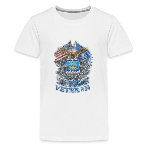 Air Force Veteran - Kids' Premium T-Shirt