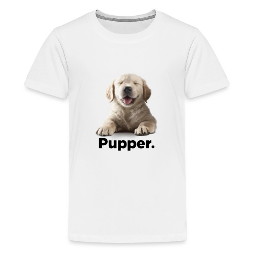 Pupper dog - Kids' Premium T-Shirt