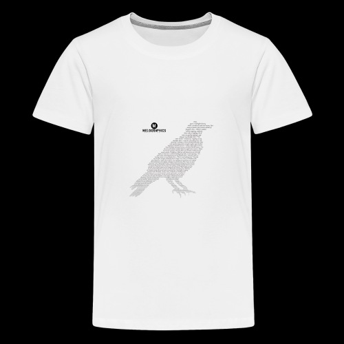 Quoth the Raven - Kids' Premium T-Shirt