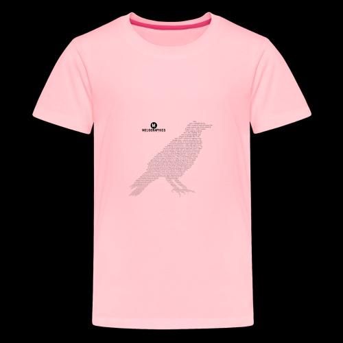 Quoth the Raven - Kids' Premium T-Shirt