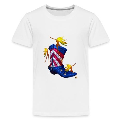 Boot Hoot - Kids' Premium T-Shirt