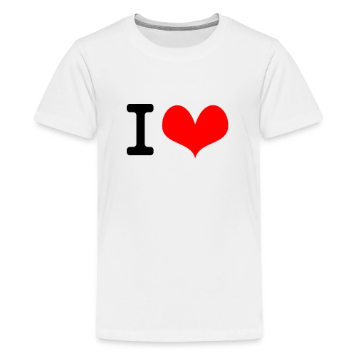 I Love what - Kids' Premium T-Shirt