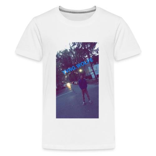 Yvng.wolfe Street Pic - Kids' Premium T-Shirt
