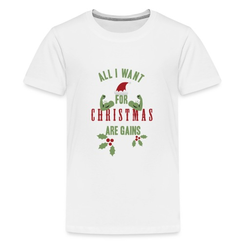 All i want for christmas - Kids' Premium T-Shirt