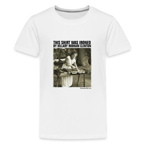 Ironed By Hillary - Kids' Premium T-Shirt