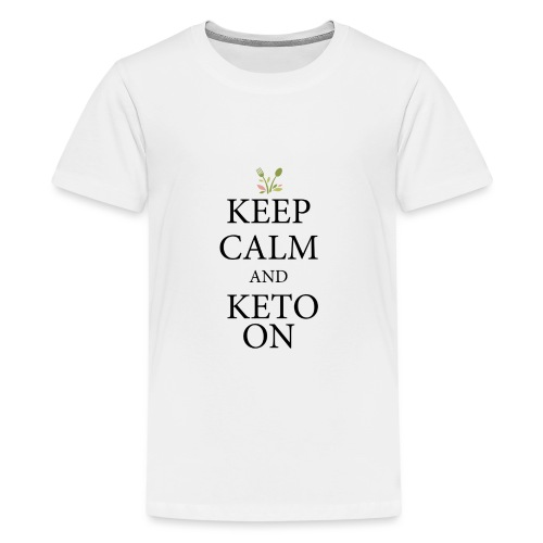 Keto keep calm - Kids' Premium T-Shirt