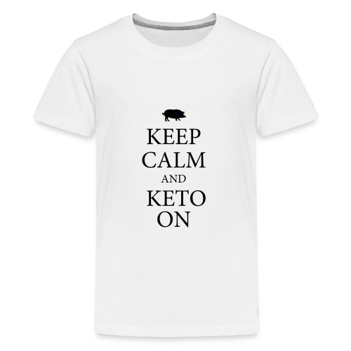 Keto keep calm2 - Kids' Premium T-Shirt