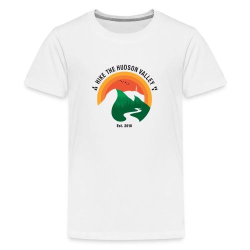 Hike The Hudson Valley (White/light bkgrnd) - Kids' Premium T-Shirt