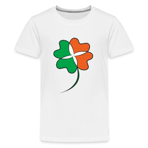 Irish Clover - Kids' Premium T-Shirt