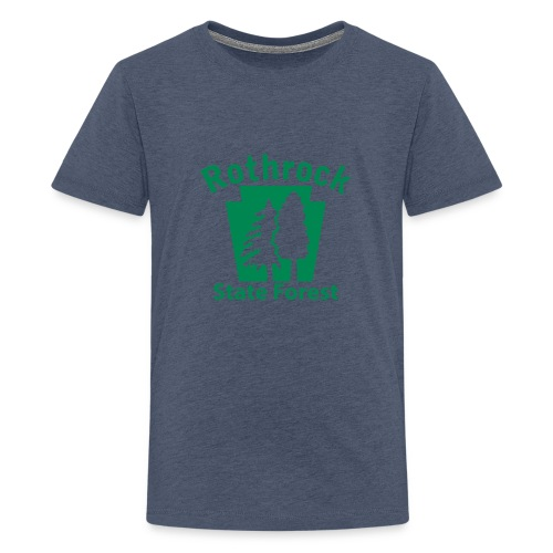Rothrock State Forest Keystone (w/trees) - Kids' Premium T-Shirt