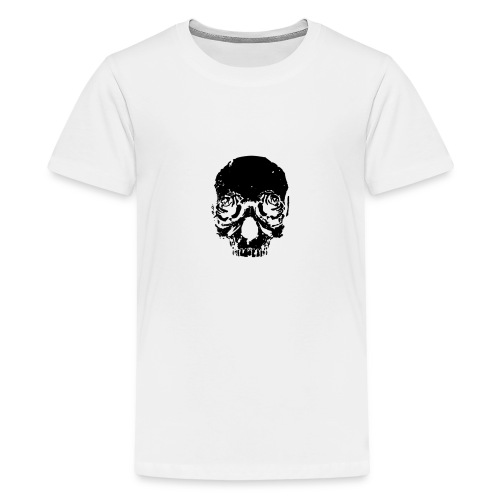Skull rose - Kids' Premium T-Shirt