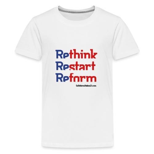 GoReformNation21 - Get into the team spirit! - Kids' Premium T-Shirt
