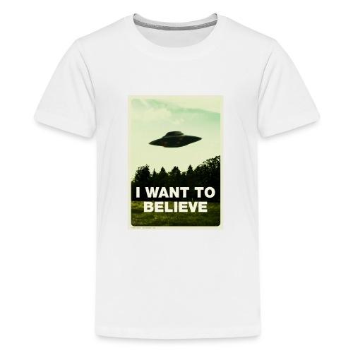 i want to believe (t-shirt) - Kids' Premium T-Shirt