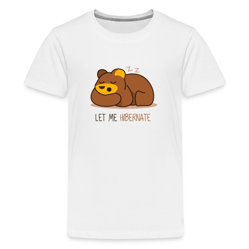 Let Me Hibernate - Kids' Premium T-Shirt