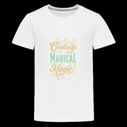 Creativity is Magical not Magic - Kids' Premium T-Shirt