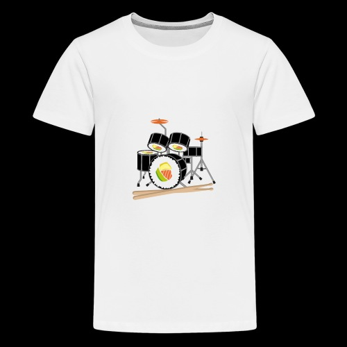 Sushi Roll Drum Set - Kids' Premium T-Shirt