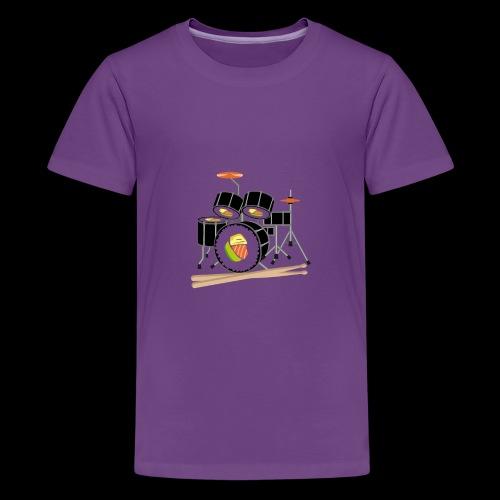 Sushi Roll Drum Set - Kids' Premium T-Shirt