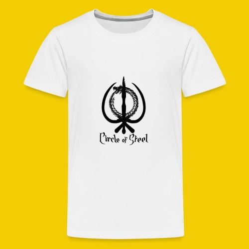 circle_of_steel_logo21 - Kids' Premium T-Shirt