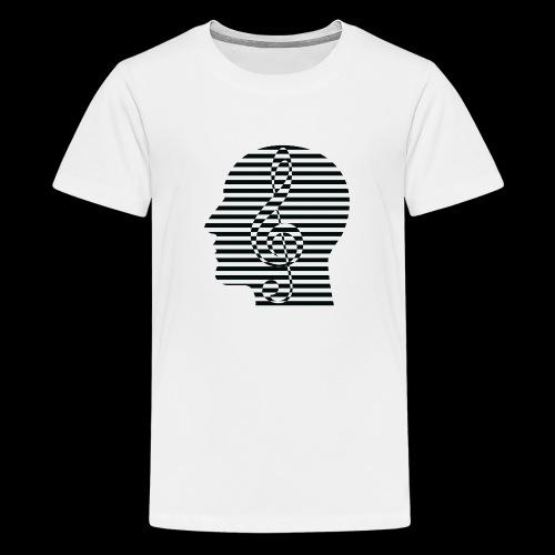 Treble Clef Cranium - Kids' Premium T-Shirt