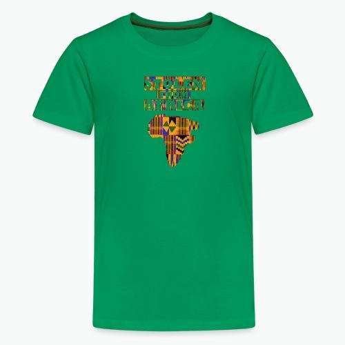 STOLEN FROM AFRICA Kente - Kids' Premium T-Shirt