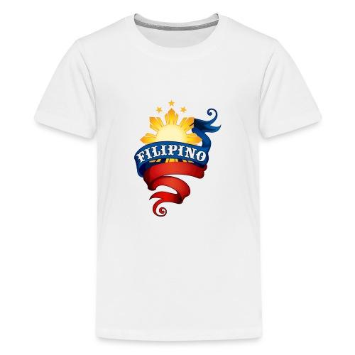 Filipino Logo - Kids' Premium T-Shirt