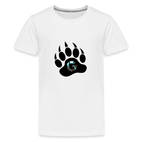 Geodine's Zombie Paw logo - Kids' Premium T-Shirt