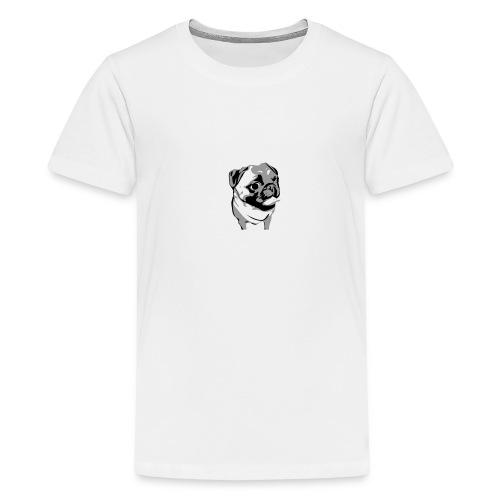 BreezyPug - Kids' Premium T-Shirt
