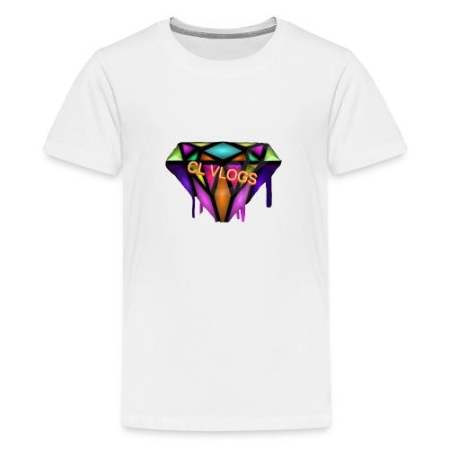 CL VLOGS - Kids' Premium T-Shirt