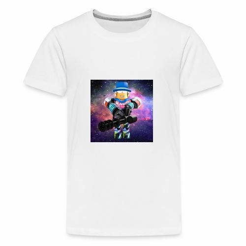 sean roblox character with minigun - Kids' Premium T-Shirt