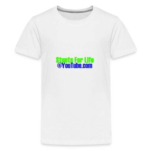 stunts for life - Kids' Premium T-Shirt