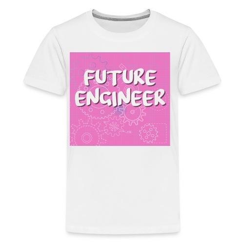 Future Engineer in Pink - Kids' Premium T-Shirt