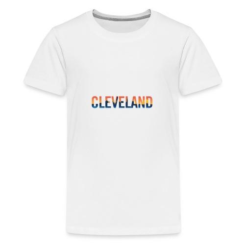 Cleveland Ohio Pride Illustration - Kids' Premium T-Shirt
